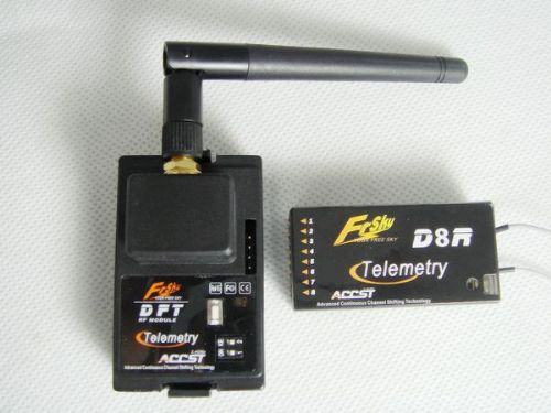 Frsky 2.4GHz Radio System Telemetry DFT+D8R Two Way Com