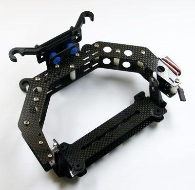 BUMBLE BEE T550 Camera mount Carbon Fiber