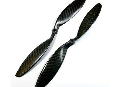 12x3.8 Carbon Fiber Propeller Set CW/CCW