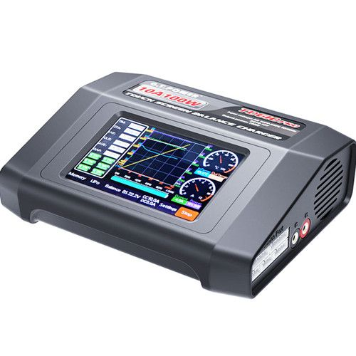 G.T. Power PRO TD610 100W 10A AC/DC Touch Screen Battery Charger