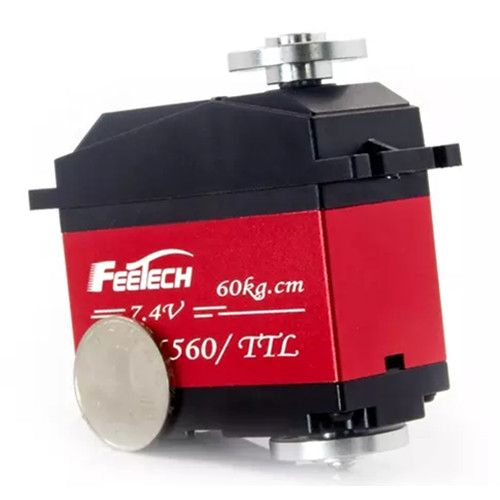 FEETECH SCS6560 TTL Serial bus High Torque Programmable Robot Servo for Automatic machinery