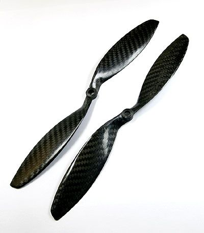 9x4.7 Carbon Fiber Propeller Set CW/CCW