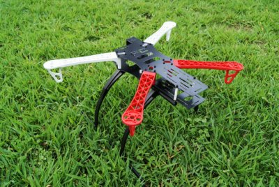 Quad Xcopter Kit Motors, Frame, KK Controler & ESC 4s support
