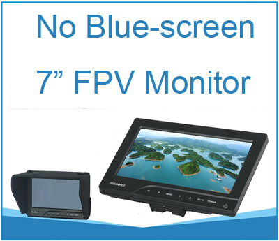 7 inch Monitor 800x480 Resolution FPV Monitor W/Light Shield