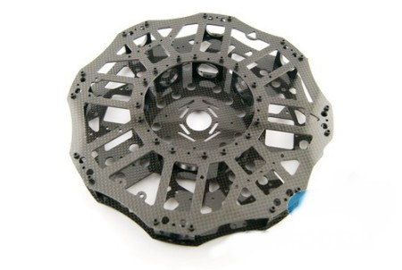 6 axis KIT Heavy lifter 25mm X 1000mm 3k carbon fiber