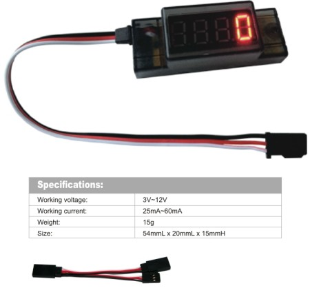 GT POWER RC ignition Use Mini Tachometer