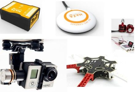DJI NAZA-M V2+GPS+H3-2D+F550ARF(include motor and esc)