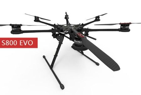 DJI Spreading wings S800EVO + WOOKONG-M Promotion