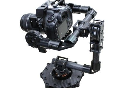 3-axis Carbon Fiber Brushless Gimbal for 5D 7D
