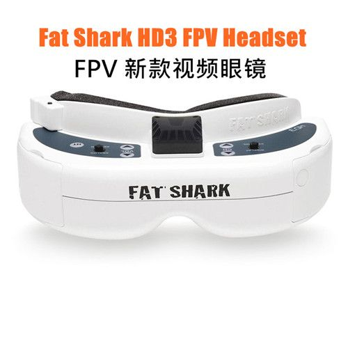 Fatshark Fat Shark Dominator HD3 HD V3 4:3 FPV Goggles