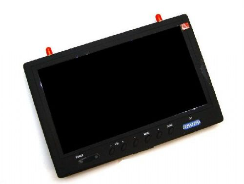 7 inch Monitor Integrated With 5.8G Receiver, DVR Recorder