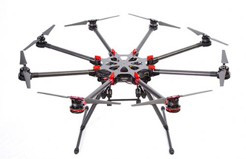 DJI S1000 Standard version 8 shaft aircraft+A2+5D(Ⅱ OR Ⅲ)COMBO