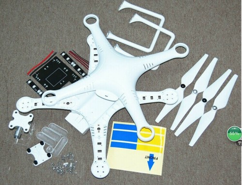 DJI Phantom 2 Vision And DJI Phantom 2 Quadcopter Spare Part