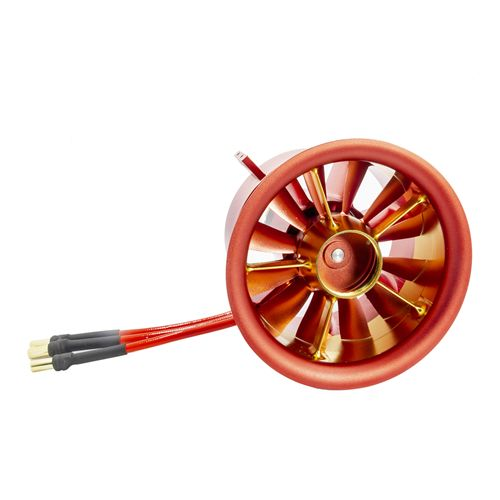 90mm Full Metal Duct-ed Fan 12 Blades 8S 4250 KV1330 CCW or CW For RC Jet Plane JP Hobby