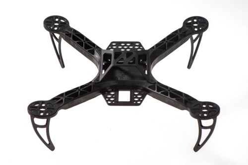 Black Nylon 4 Axis Quadcopter Frame Kit KK260