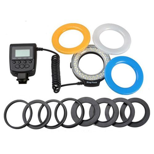 Ring flash led macro flash for SLR camera ZYX28