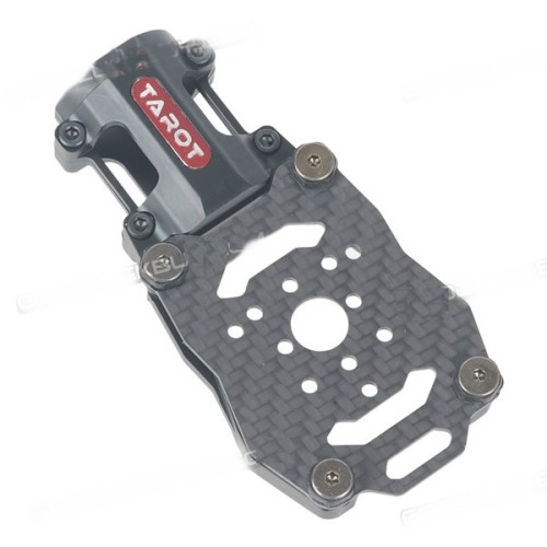 Tarot Dia.25mm Anti-vibration Motor Mounting Seat Holder Black