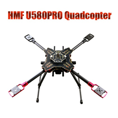 4-Axis Umbrella Folding Quadcopter Frame Kit with Retractable LD