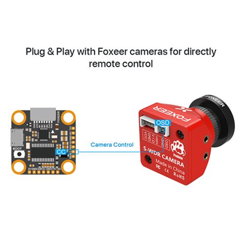 F722 Mini V2 Flight Controller by Foxeer 20*20mm Mounting Hole Beta Flight