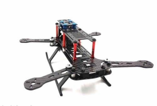 260mm Carbon Fiber 4 Axis Mini Quadcopter Frame Kit