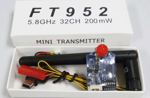 5.8ghz 200mw 32 channels Mini FPV Racing Video Transmitter SMA