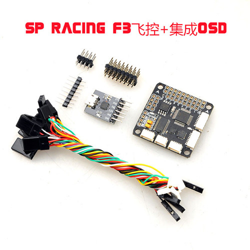 SP Racing F3 Flight Control With Integrated OSD With MPU6500