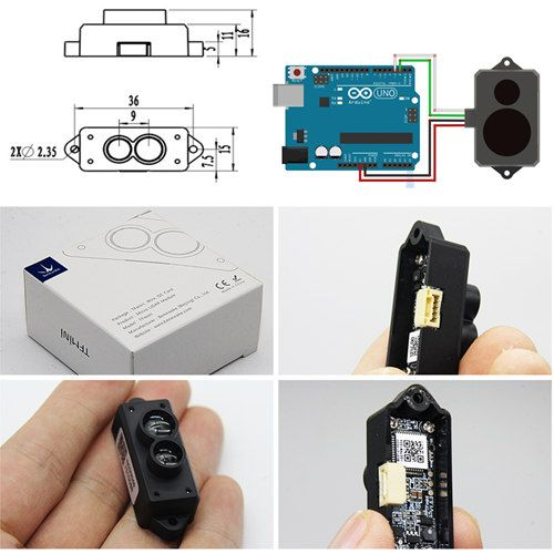 mini Lidar Range Finder Sensor Module Single Point Ranging