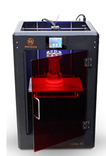 Glitar 5C Print 300*200*400mm high accuracy.04-.02 mm ABS/PLA