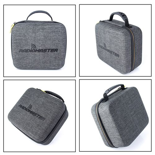 Radiomaster Universal Portable Storage Bag TX16S Remote Control Transmitter Case 24cm x 20cm x 11cm For Airplane Model