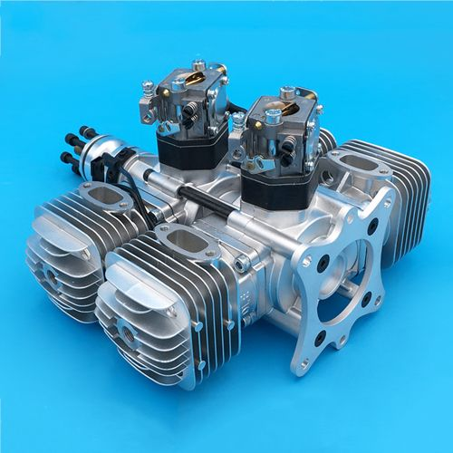 DLE120 Gasoline Engine Two-Stroke Side Exhaust Wind-Cooled 120CC