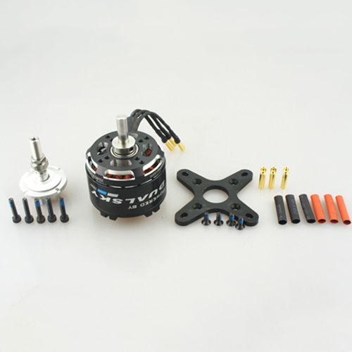 Dualsky XM5050EA V3 515KV Brushless Outrunners Motor For 70E Fixed-wing RC Airplane