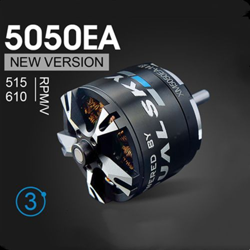 Dualsky XM5050EA V3 610KV Brushless Outrunners Motor For 70E Fixed-wing RC Airplane