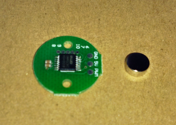 BGC AS5048 Encoder PCB wire & magnet supports BasecamElectronics