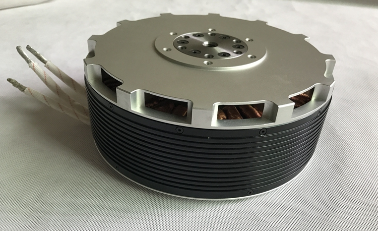 50KW Brushless motor 150hp BLDC motor 10 units
