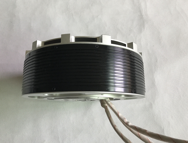 MP154120 70KW brushless Halbach Array motor