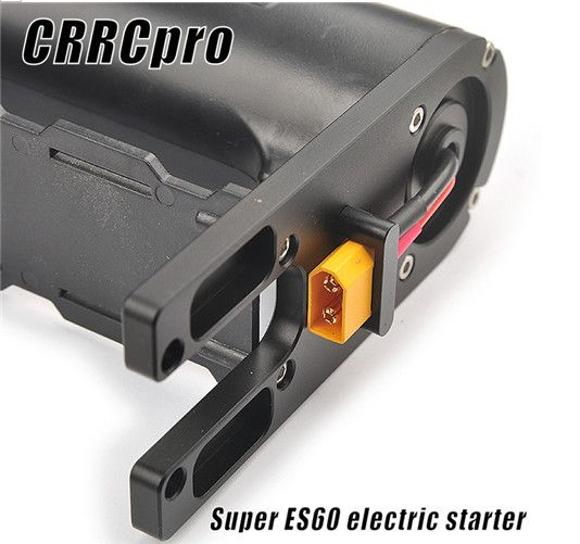 ES60 CRRCpro Starter For 15cc 62cc Gas Nitro Engine RC Airplane