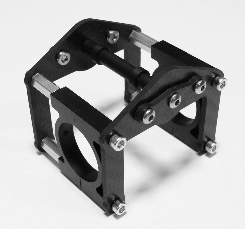 Roll Cage B with aluminum clamps