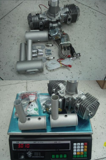 2 cylinder Gasoline engine For Model Airplane DLE111