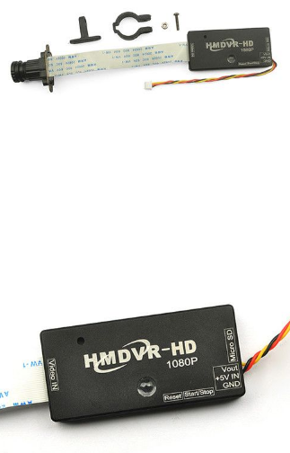 Drone Spare Part HMDVR-HD 1080P DVR Switchable