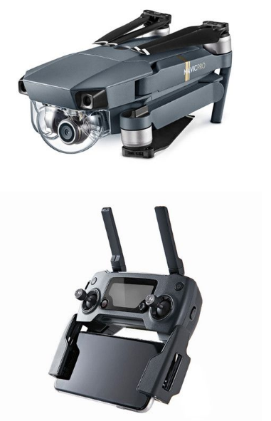 DJI Mavic pro 3-axis mechanical gimbal with 4K Stabilized Camera