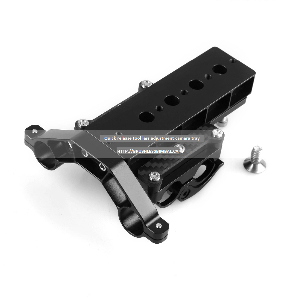 Quick Release Camera mount plate for gimbal