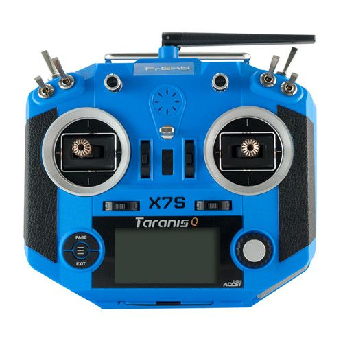 Frsky 2.4G 16CH ACCST Taranis Q X7S Transmitter Mode 2 M7 Gimbal Wireless Trainer