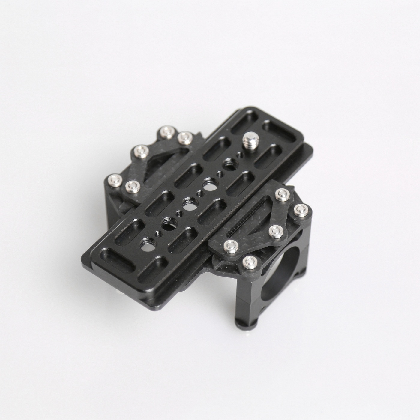 ADJUSTABLE CAMERA RAIL Aluminum clamp for Canon 5D