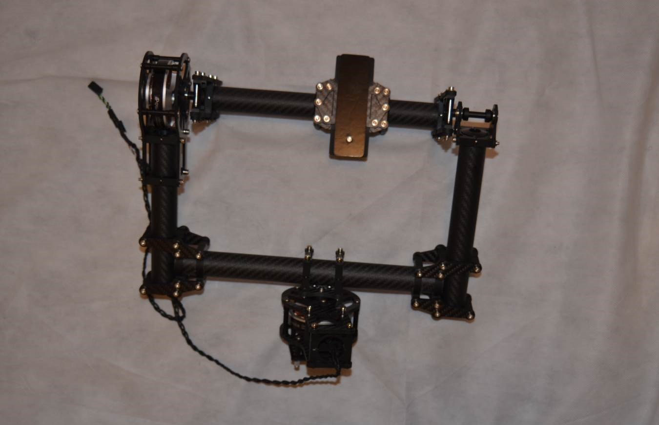 CINESTAR 2 Axis Brushless GIMBAL system KIT