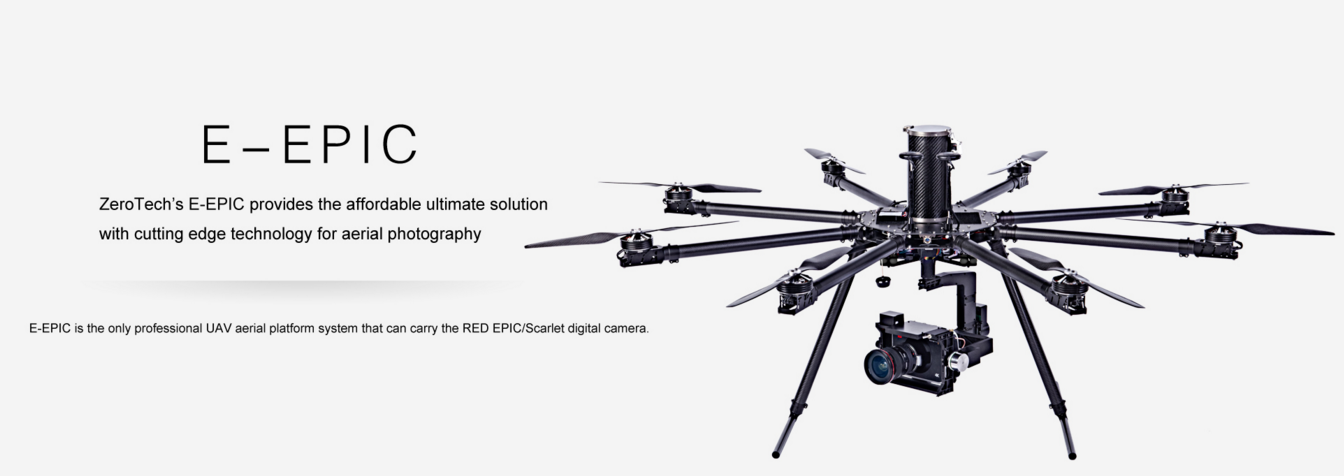 Zero Tech E Epic octocopter RTF