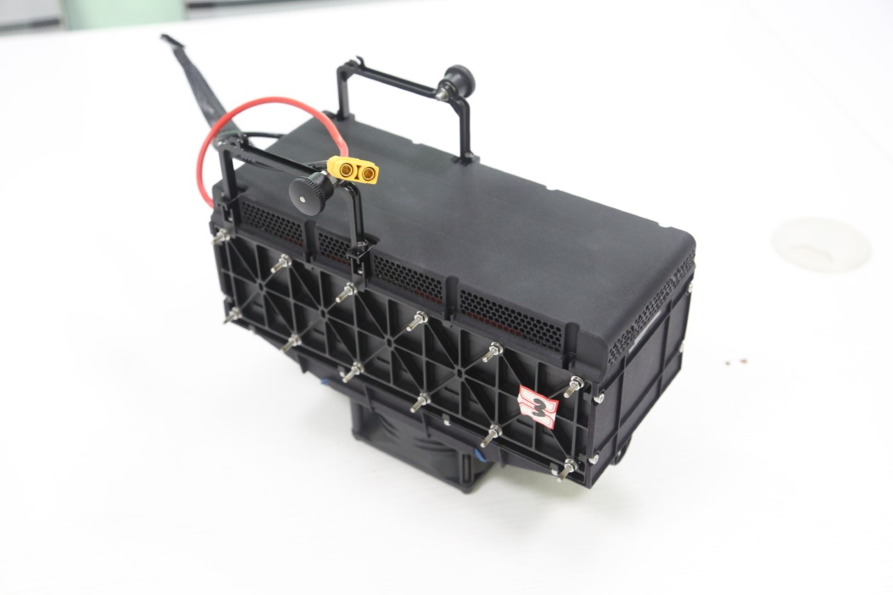 HYDROGEN FUEL CELL AIR COOLED 800 Watt KIT with 3L tank & valve
