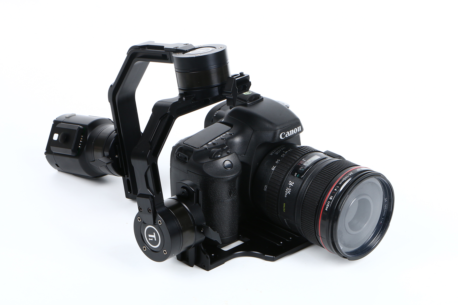 Ti 3-Axis Gimbal Handheld Stabilizer for small DSLR Cameras