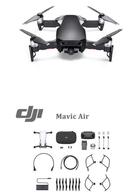 DJI MAVIC AIR FPV Drone 4K Camera 32MP With 1080P 3-Axis Gimbal