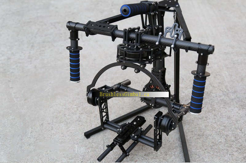 3-Axis RED Epic hand held Brushless Gimba