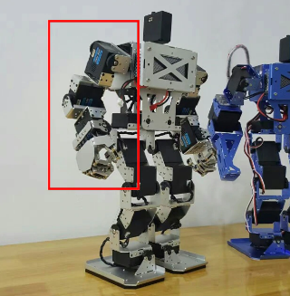 DIY Humanoid robot arm 3 degrees of freedom with 5 fingers